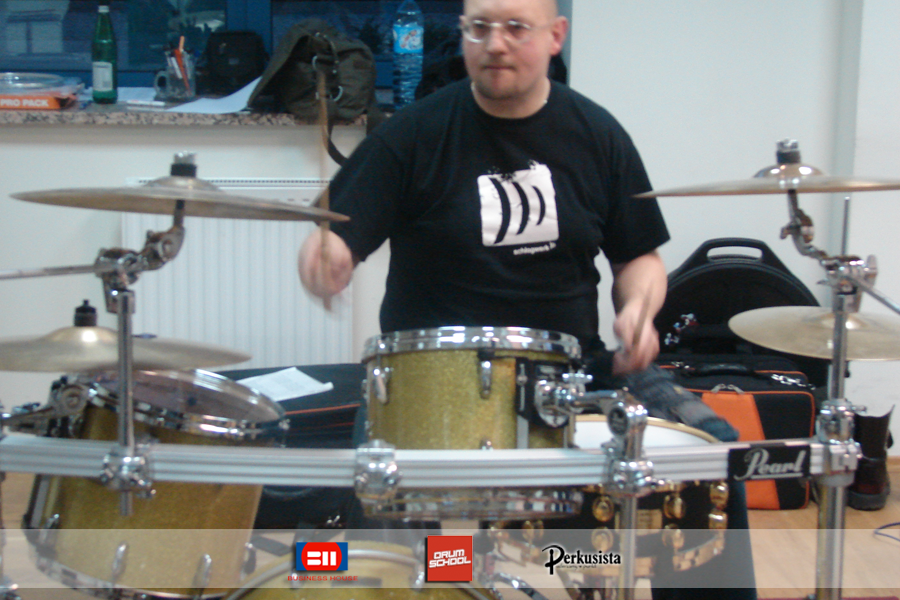 warsztaty perkusyjne z tomaszem łosowskim łodz