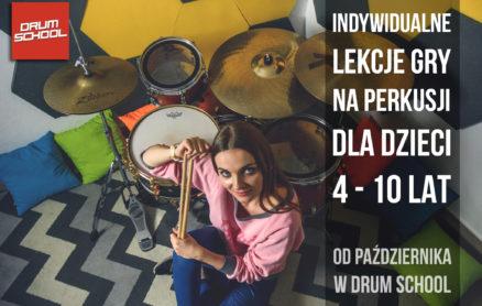 lekcje gry na perkusji dla dzieci