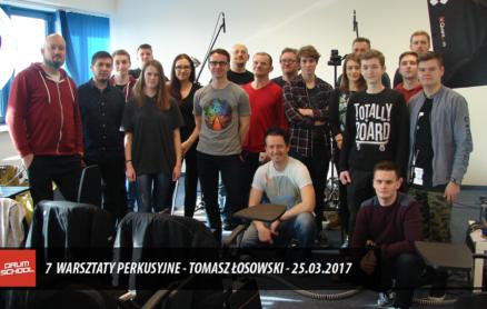tomasz łosowski - warsztaty perkusyjne