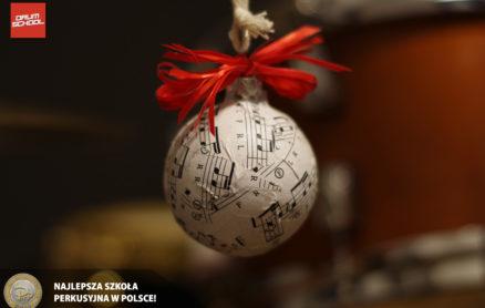 wesołych świąt - perkusja