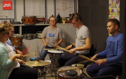 ćwiczenia na pad perkusyjny