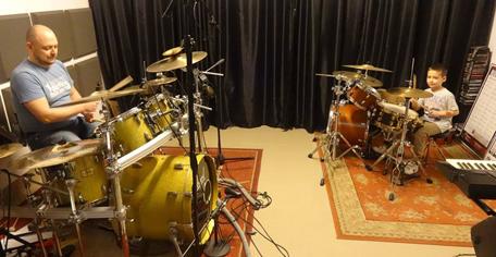 lekcje gry na perkusji dla dzieci i rodziców