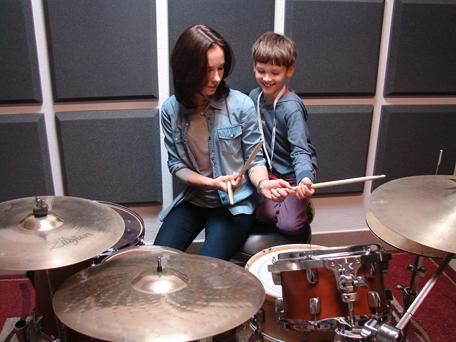perkusja dla dzieci z rodzicami - 5