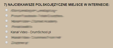 polskie nagrody perkusyjne 2017
