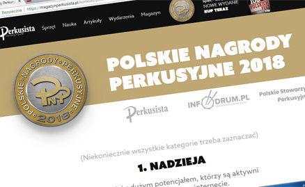 polskie nagrody perkusyjne 2018