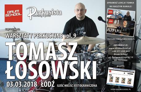 warsztaty perkusyjne z tomaszem łosowskim 2018