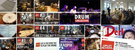 lekcje gry na perkusji w drum school lodz