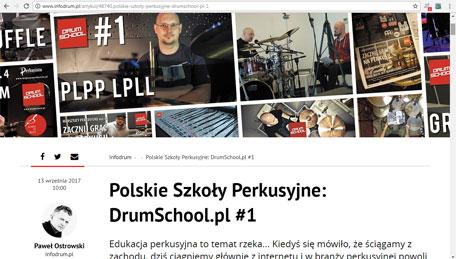 infodrum.pl o drumschool