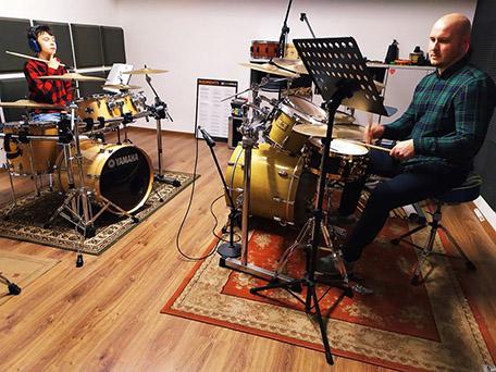 zajecia grupowe w drum school